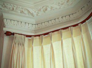 Silent Gliss Metropole Curtain Poles Bay Window Curtains
