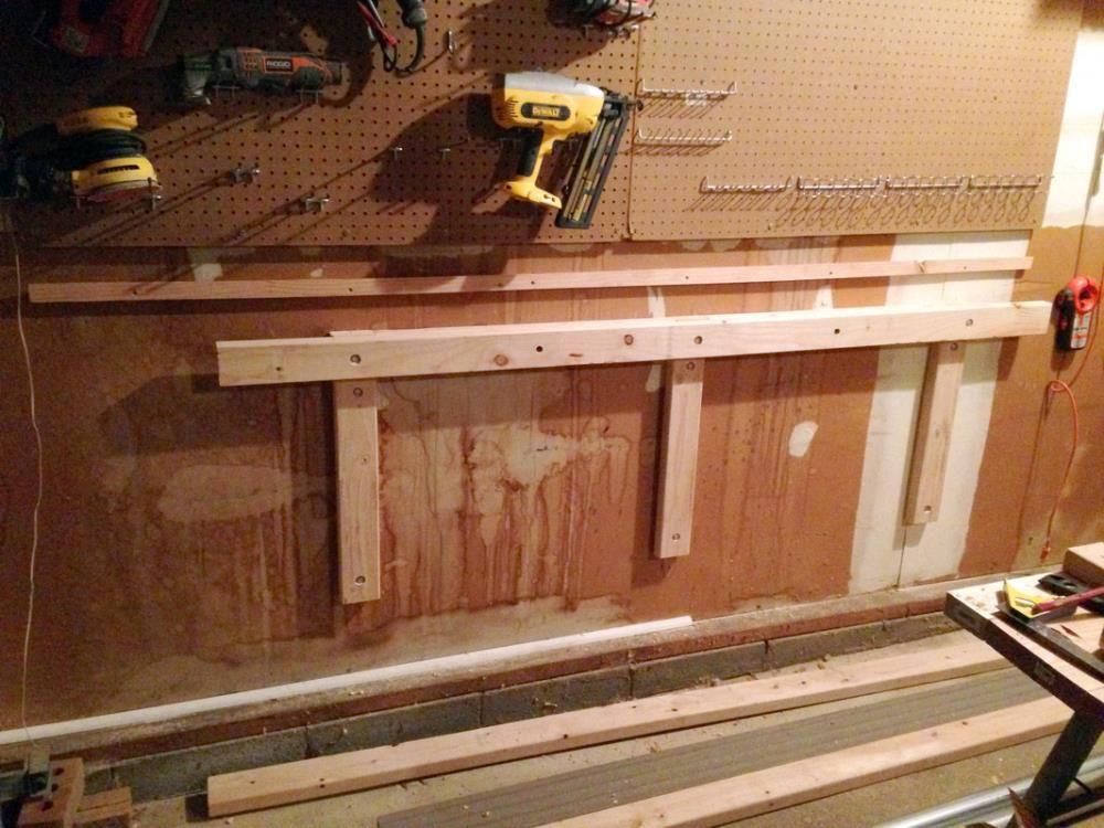 DIY Folding Workbench