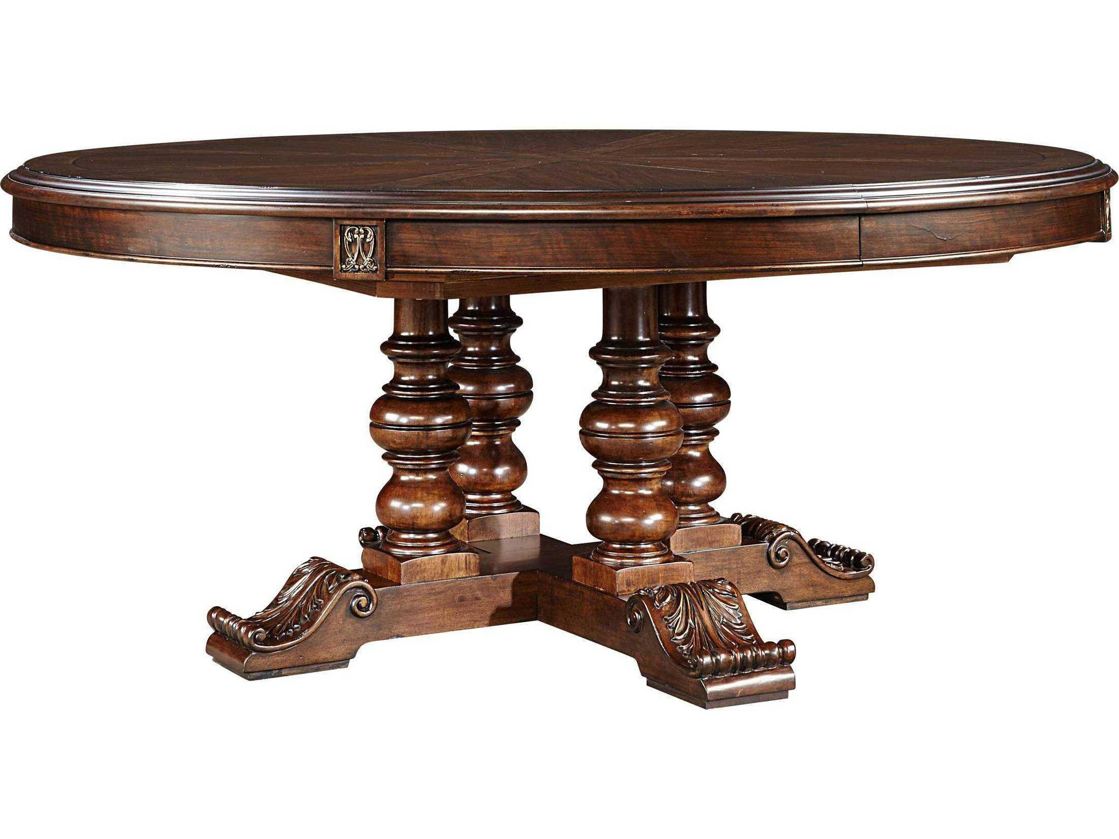 Stanley Furniture Casa D ore Stella 72 Round Dining Table
