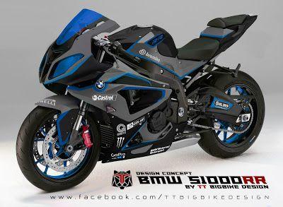 Tt Bigbike Design Bmw S1000rr Design Concept 1 Ttbigbikedesign