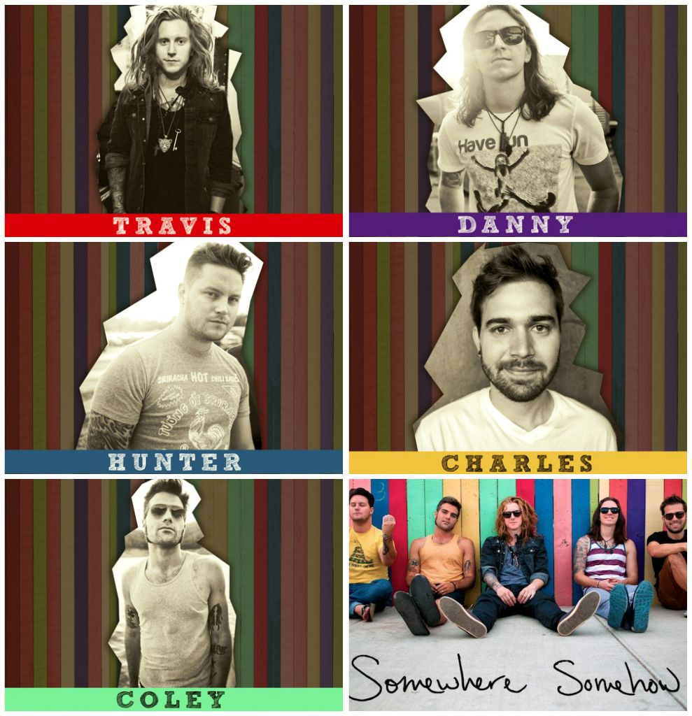 Travis Clark, Danny Duncan, Hunter Thomsen, Charles Trippy, Coley O'Toole, We the Kings