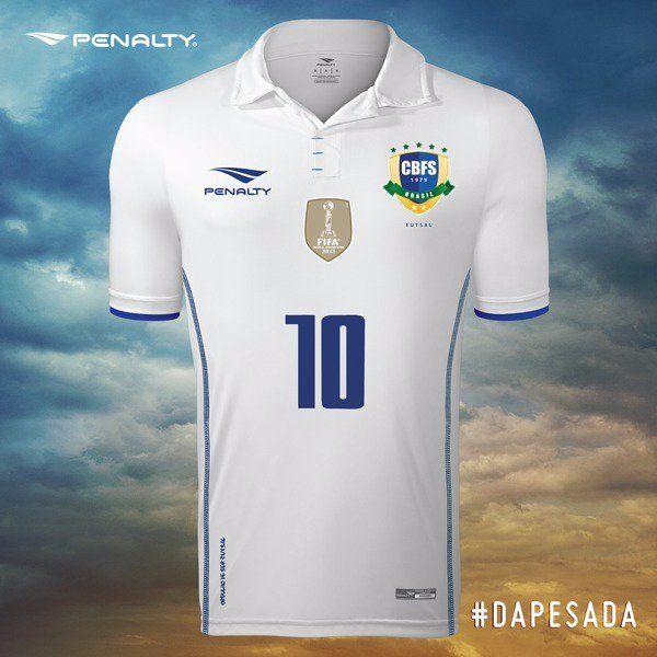 2074b4fb1f Show de Camisas  Penalty divulga novas camisas da Seleção Brasileira de  futsal
