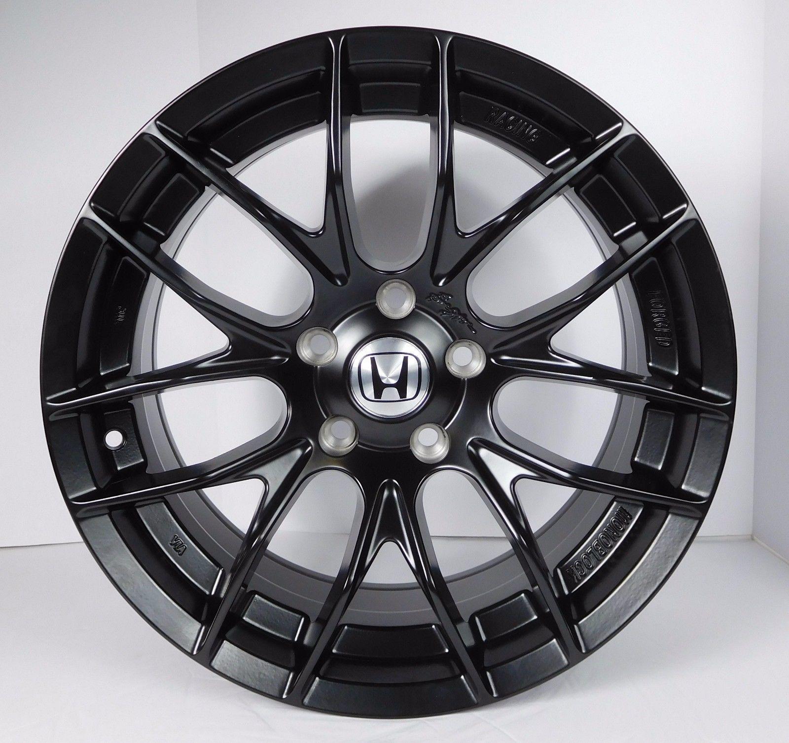 4- 17'' Black Honda Accord Civic Prelude S2000 Honda Rims ...