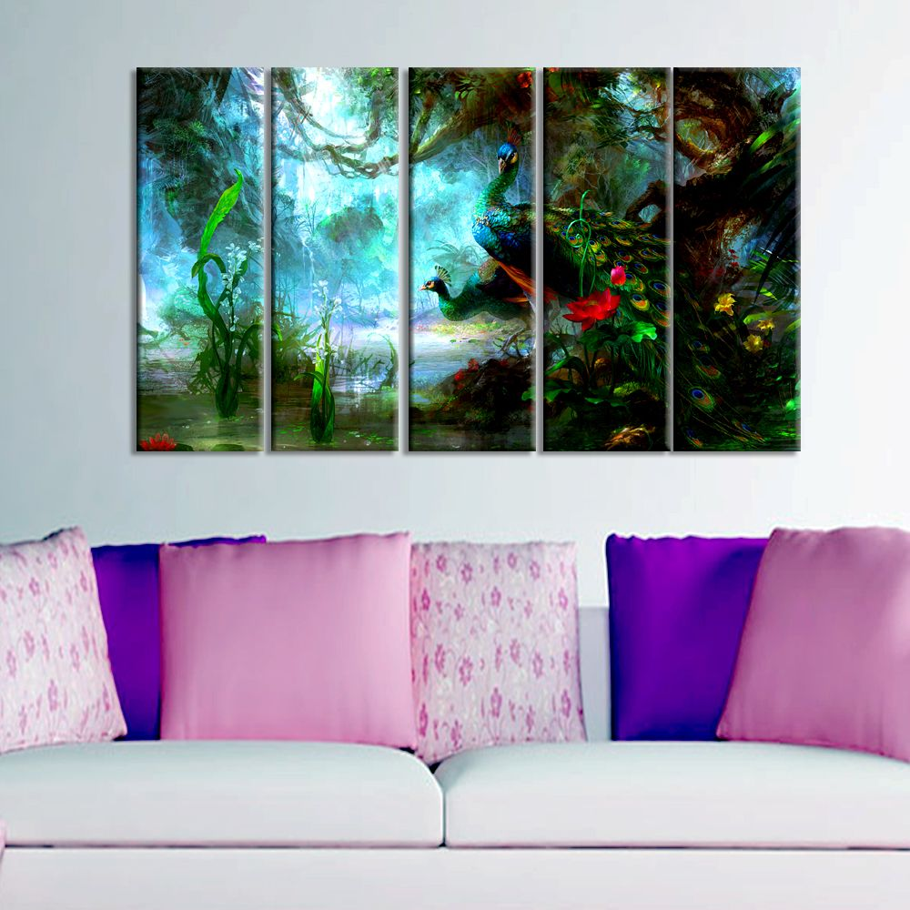 Nature Art Wall Hangings Looks So Beautiful In Living Room Want