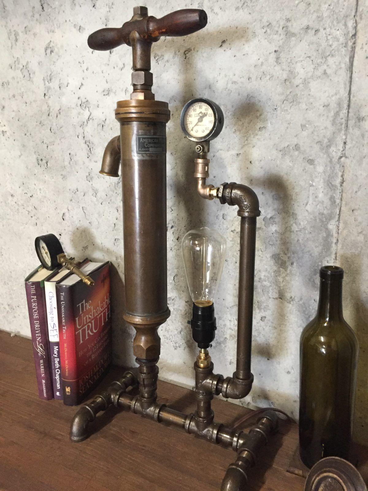 #repurposedlamps Steampunk