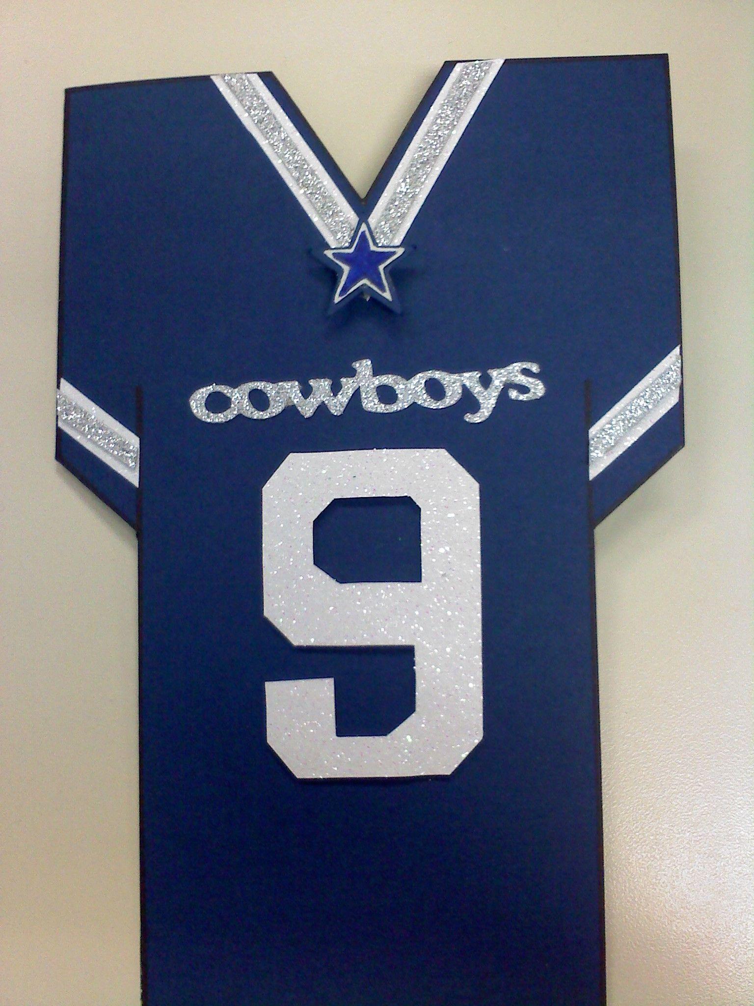 Dallascowboysjerseybirthdaycardeflor2112 Scrapbook