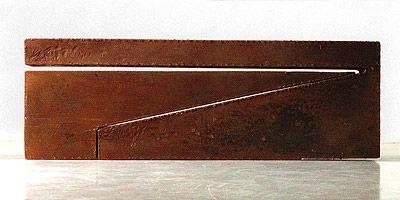 Sem Título 1990 | Amilcar de Castro aço sac 41