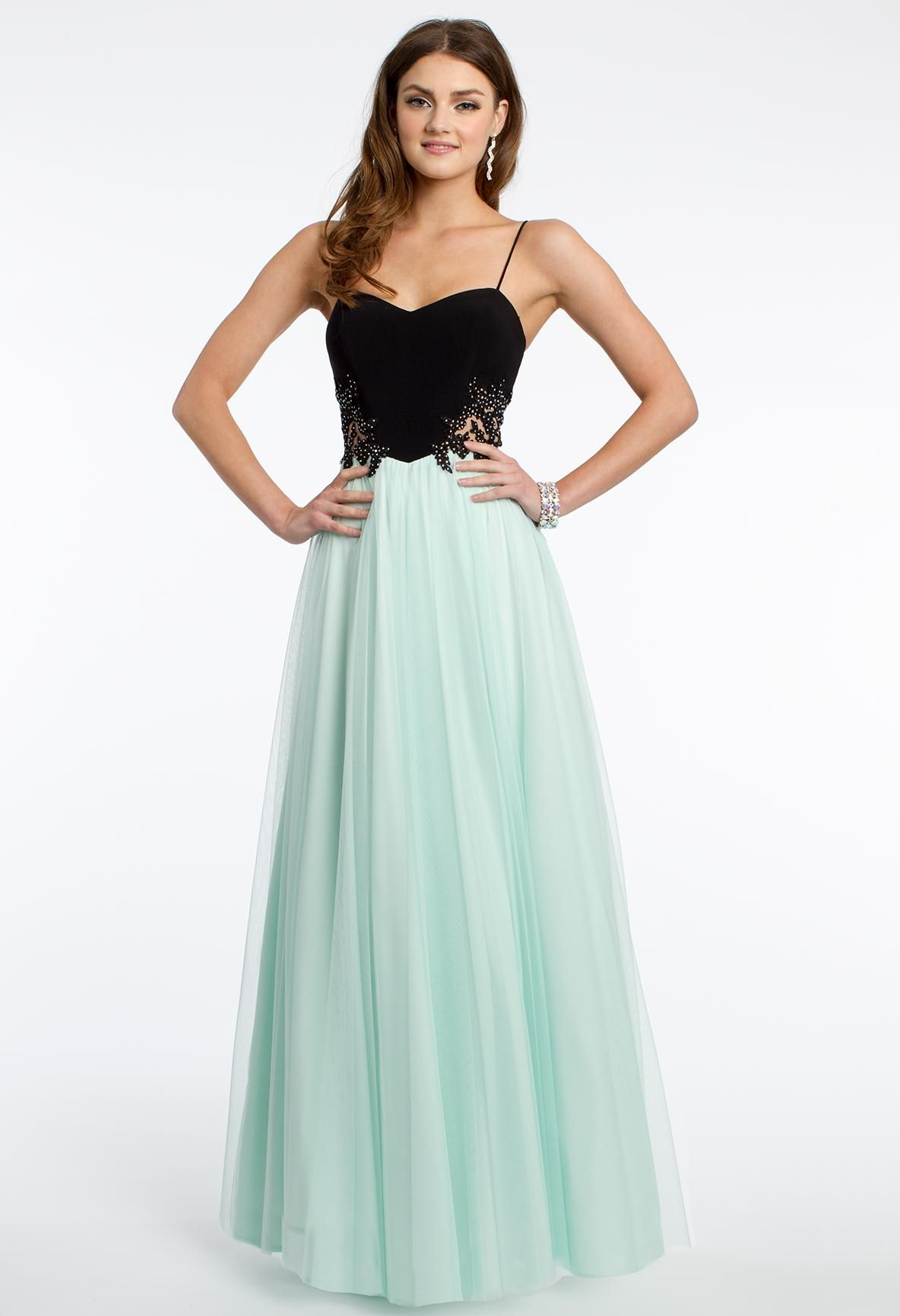 Two-Toned Tulle Dress | Tulle prom dress, Prom and Tulle dress