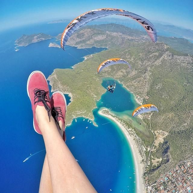 Most exciting activity if you are on holidays in #Oludeniz, #Fethiye and #Hisaronu is tandem #paragliding from #Babadag Mountain with experienced pilot. Something exclusive to remember till the end of your life!