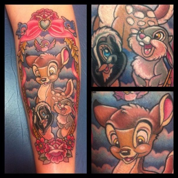 35 tatouages disney 35 tatouages disney princesses bambi