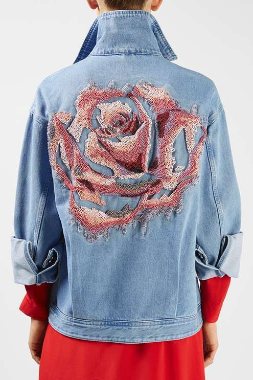 Rushmore Jacket by Unique - New In | Light wash denim jacket ...