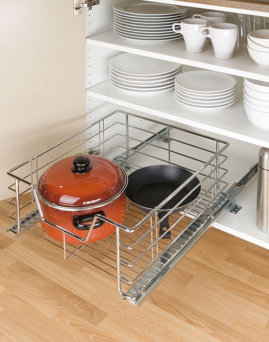 Wenko 5911500 Cesto Extraible Para Armarios De Cocina Tamano Grande Amazon Es Hogar Armarios De Cocina Almacenamiento De Cocina Ikea Armarios