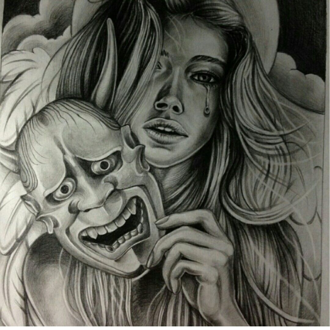 Pyrography By Robert Amaya Chicano Art Tattoo Style Drawings