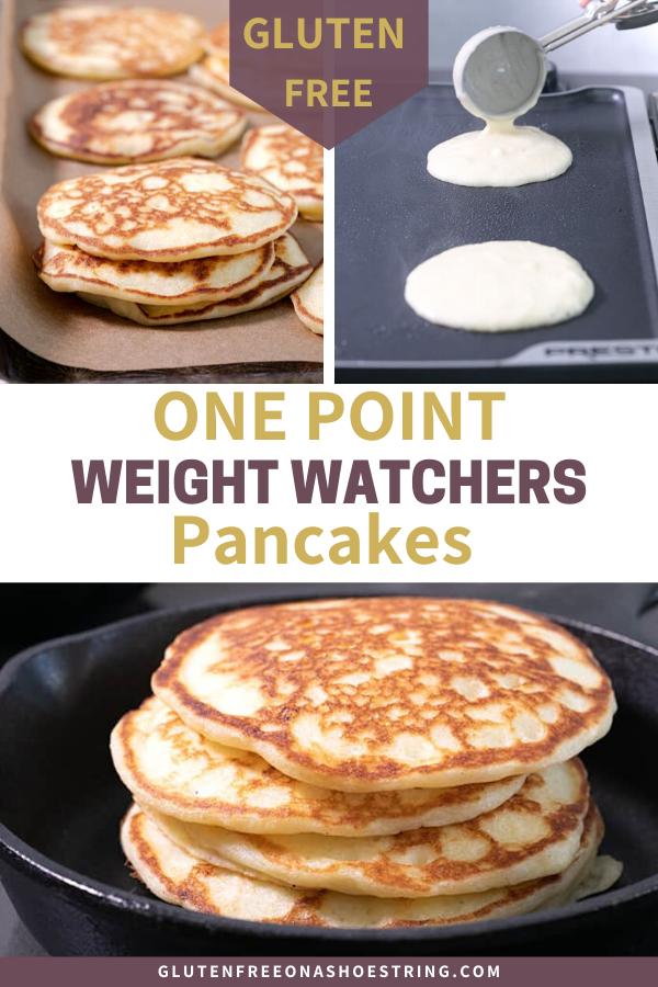 Photo of 1-Point Gluten Free Weight Watcher Pancakes!!