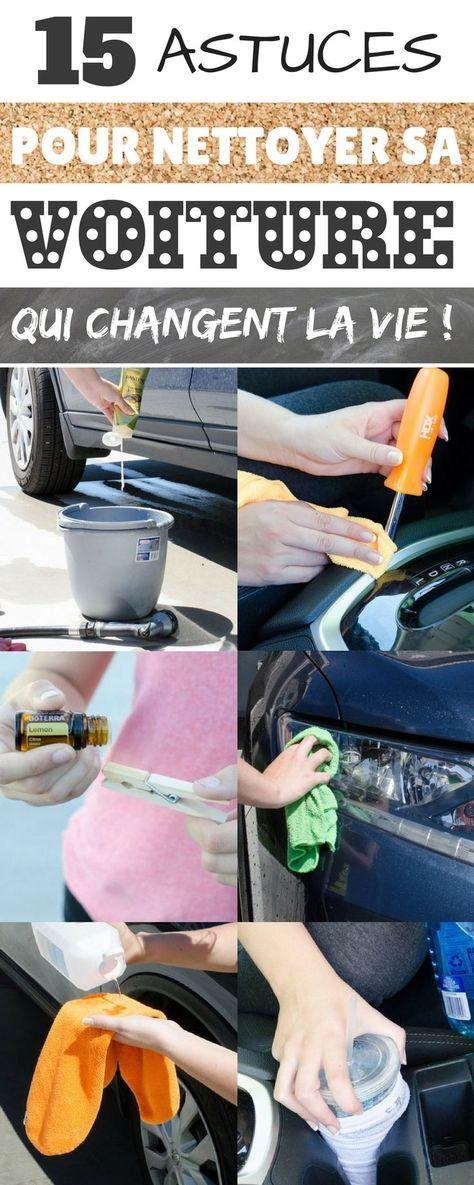 les 15 meilleures astuces pour nettoyer sa voiture entretenir pinterest nettoyer voiture. Black Bedroom Furniture Sets. Home Design Ideas