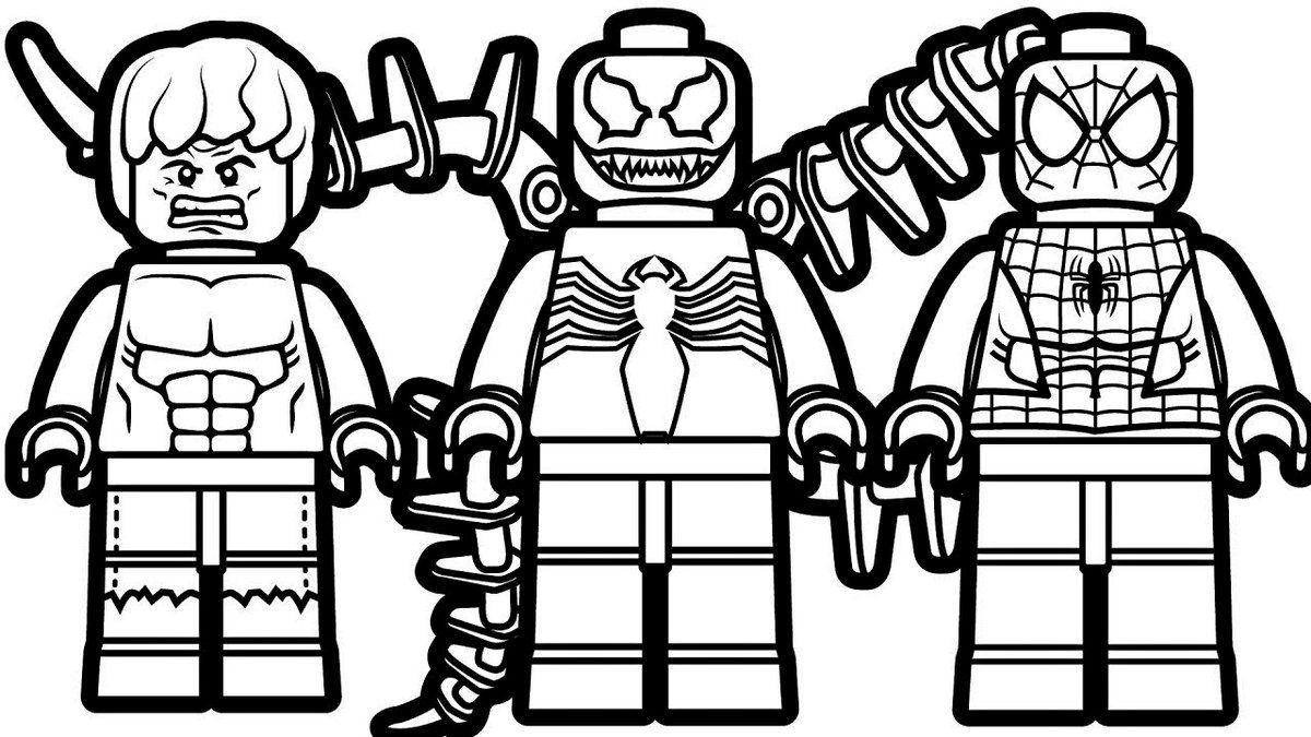 Lego Iron Man And Spiderman Drawing In 2020 Spiderman Coloring Lego Coloring Pages Lego Coloring