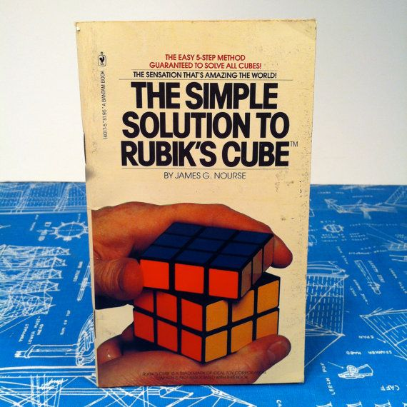 rubik's cube solution ebook