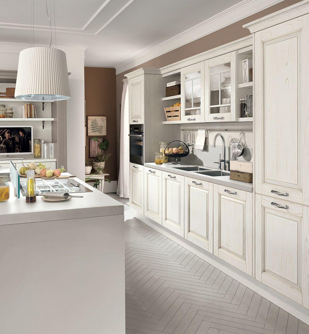 Laura - Cucine Classiche - Cucine Lube | Landhaus Küche | Kitchen ...