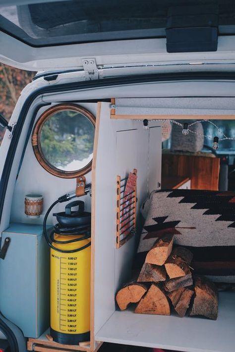 bulli ausbau drei kreative ideen f r deinen camper van. Black Bedroom Furniture Sets. Home Design Ideas