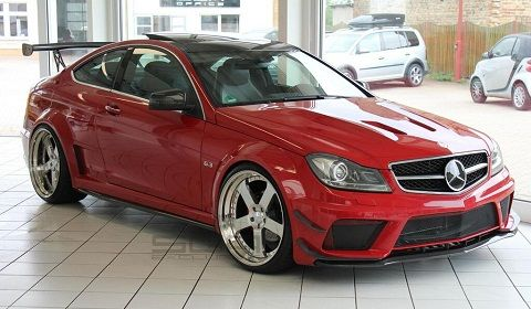 C63 Black Series Conversion for MercedesBenz C350 Coupe  Fast