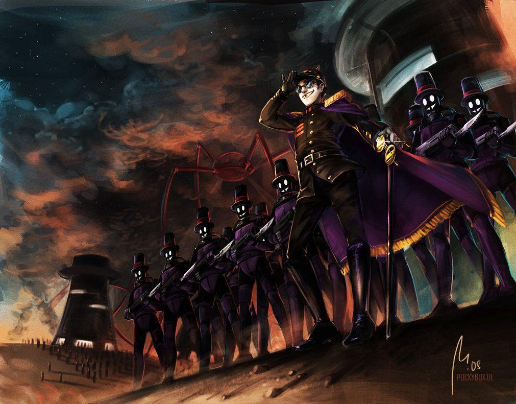 The Warden S Bright Future Anime Character Design Anime Anime Wallpaper Epic anime wallpaper future