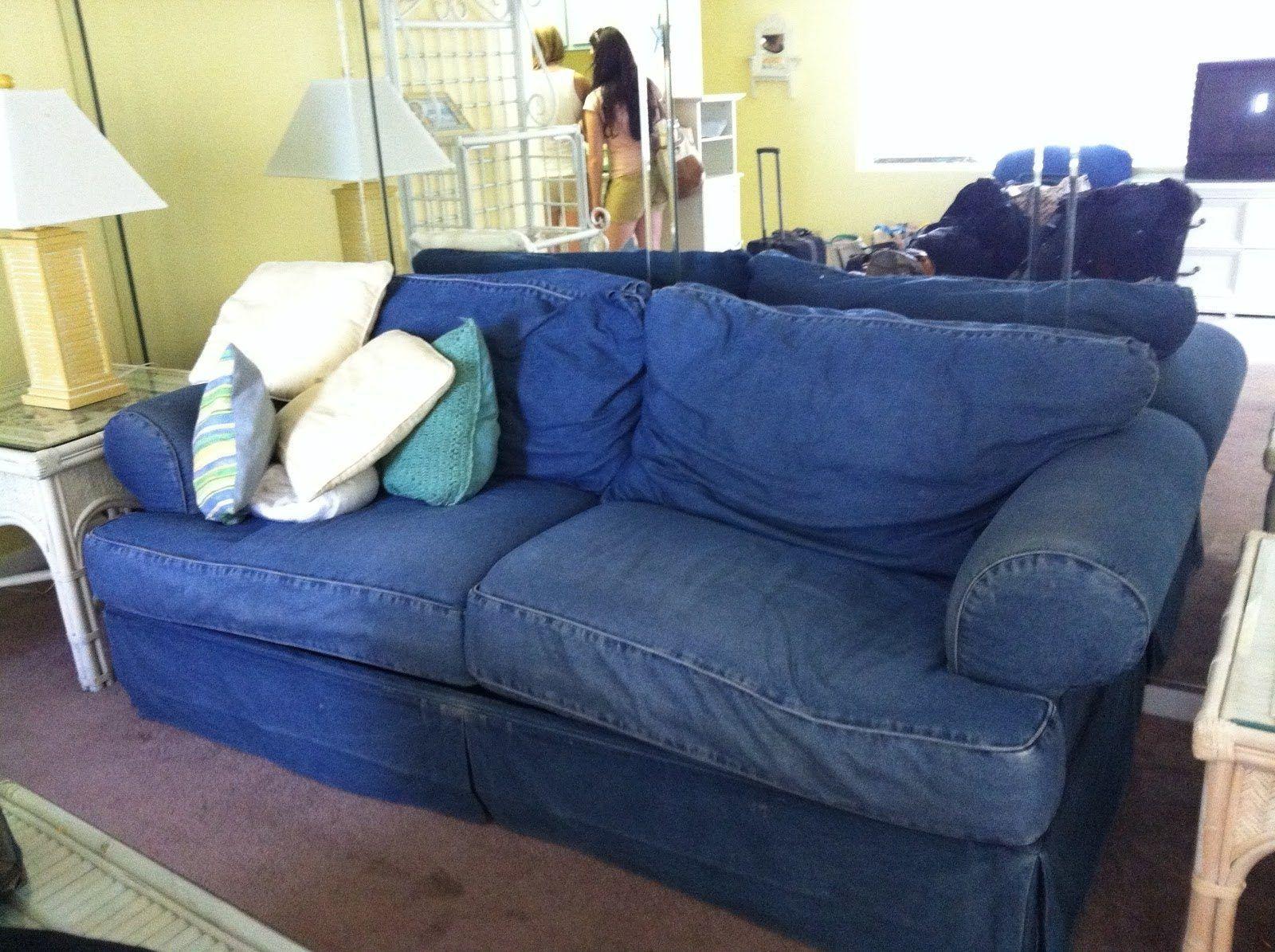 Stylish Sofa Slipcovers To Revamp Your Sofa Darbylanefurniture Com In 2020 Denim Couch Denim Sofa Furniture Slipcovers