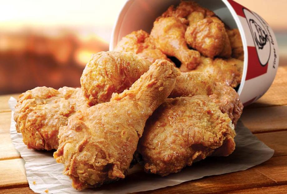 Menu Bucket Of Chicken Kfc Chicken Bucket Chicken Kentucky Fried Chicken Menu