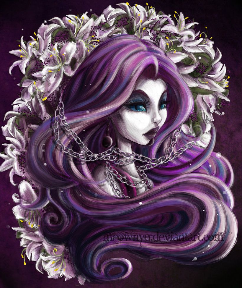 Haunted Beauty by meownyo Monster high art, Art