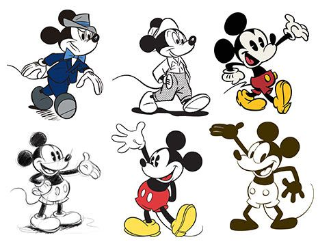El Cine En Rosa 2013 Noviembre Dibujos De Personajes De Disney Arte De Mickey Mouse Tatuajes De Mickey Mouse
