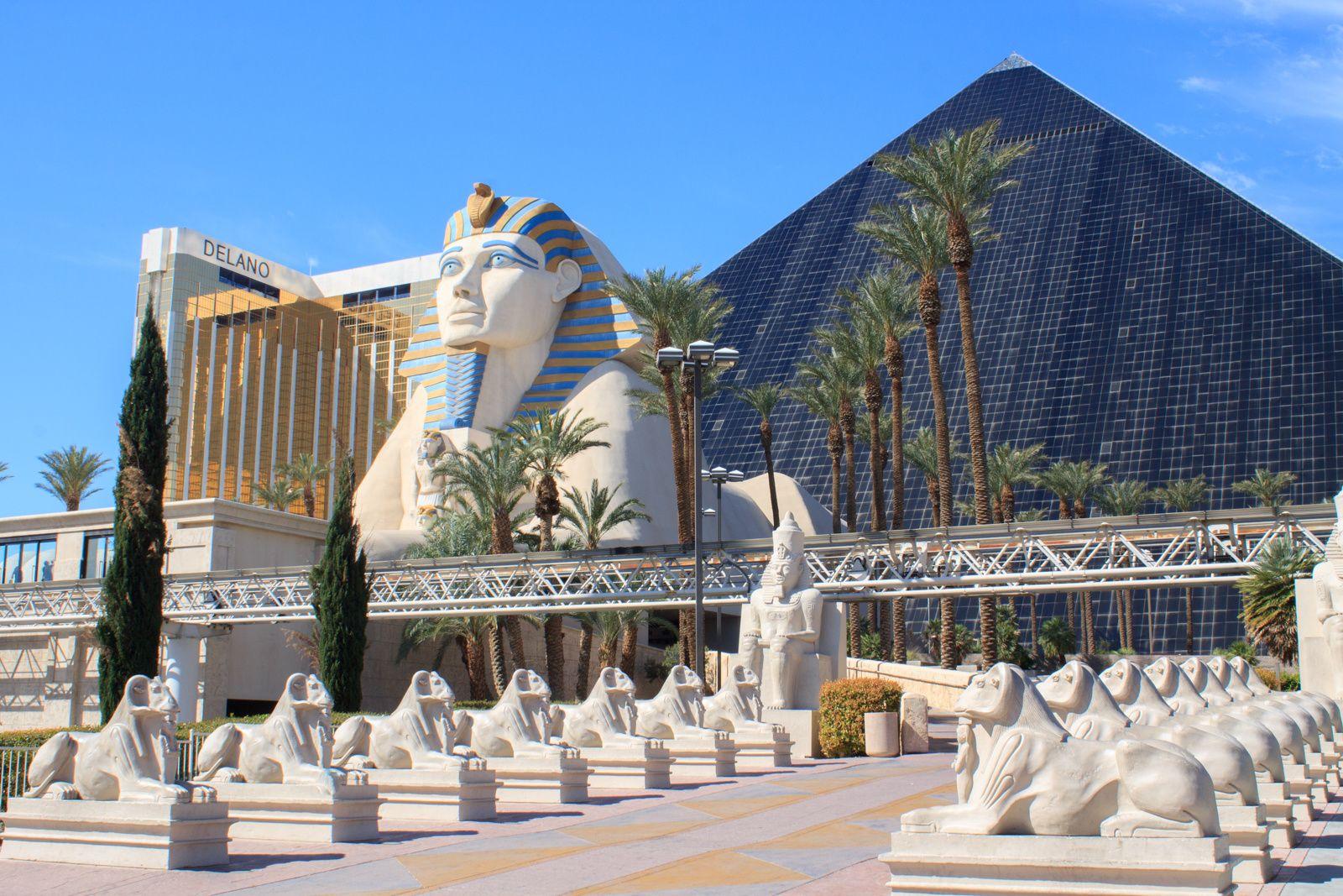 Luxor Las Vegas Nevada Lasvegas Vegas Nevada Postmodernism