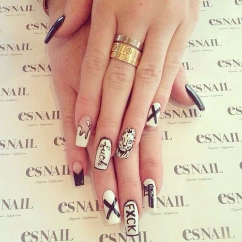 Kylie Jenner Nails Makeup Nails Pinterest Kylie White Nails