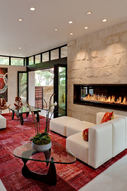salones decorar salas lujo acogedor hogar belleza chimeneas modernas casas modernas