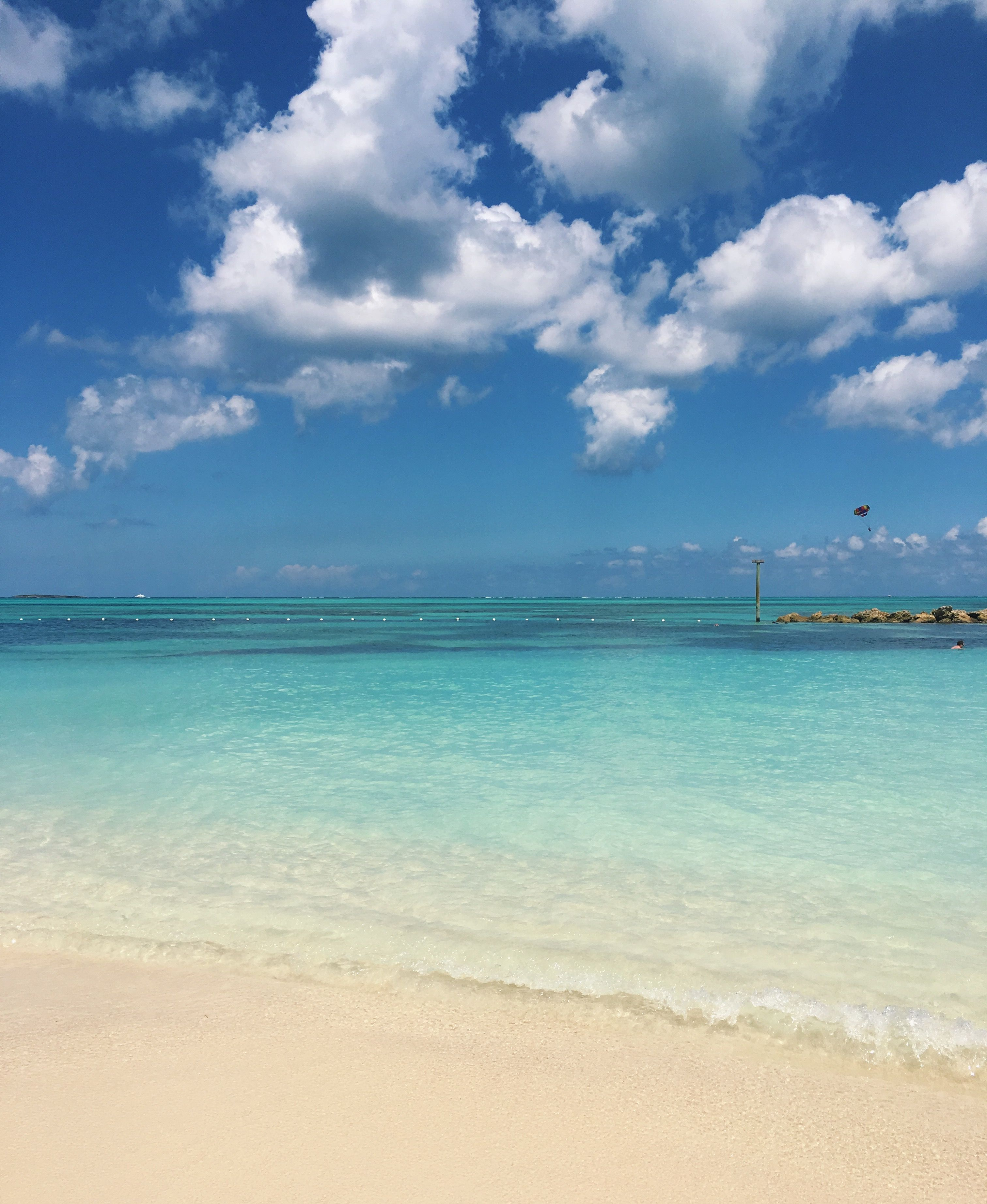 Bahamas Beach: Cable Beach In Nassau, Bahamas In 2019