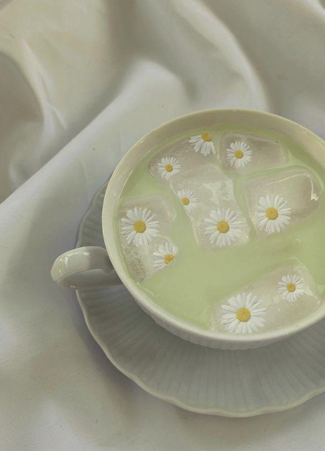 Sage Green Cottagecore Tea