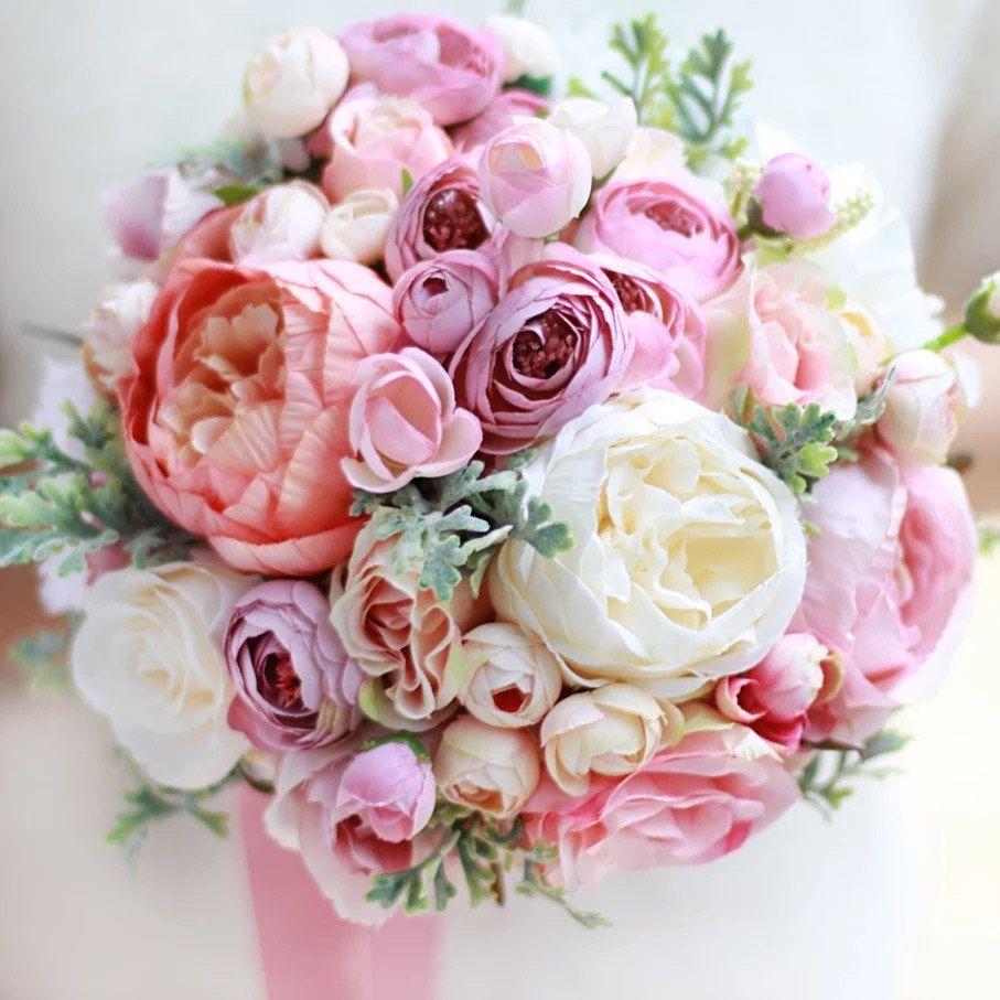 22 beautiful fake flower bouquets for weddings artificialflowers 22 beautiful fake flower bouquets for weddings artificialflowers bead bouquets fakebouquet izmirmasajfo Choice Image
