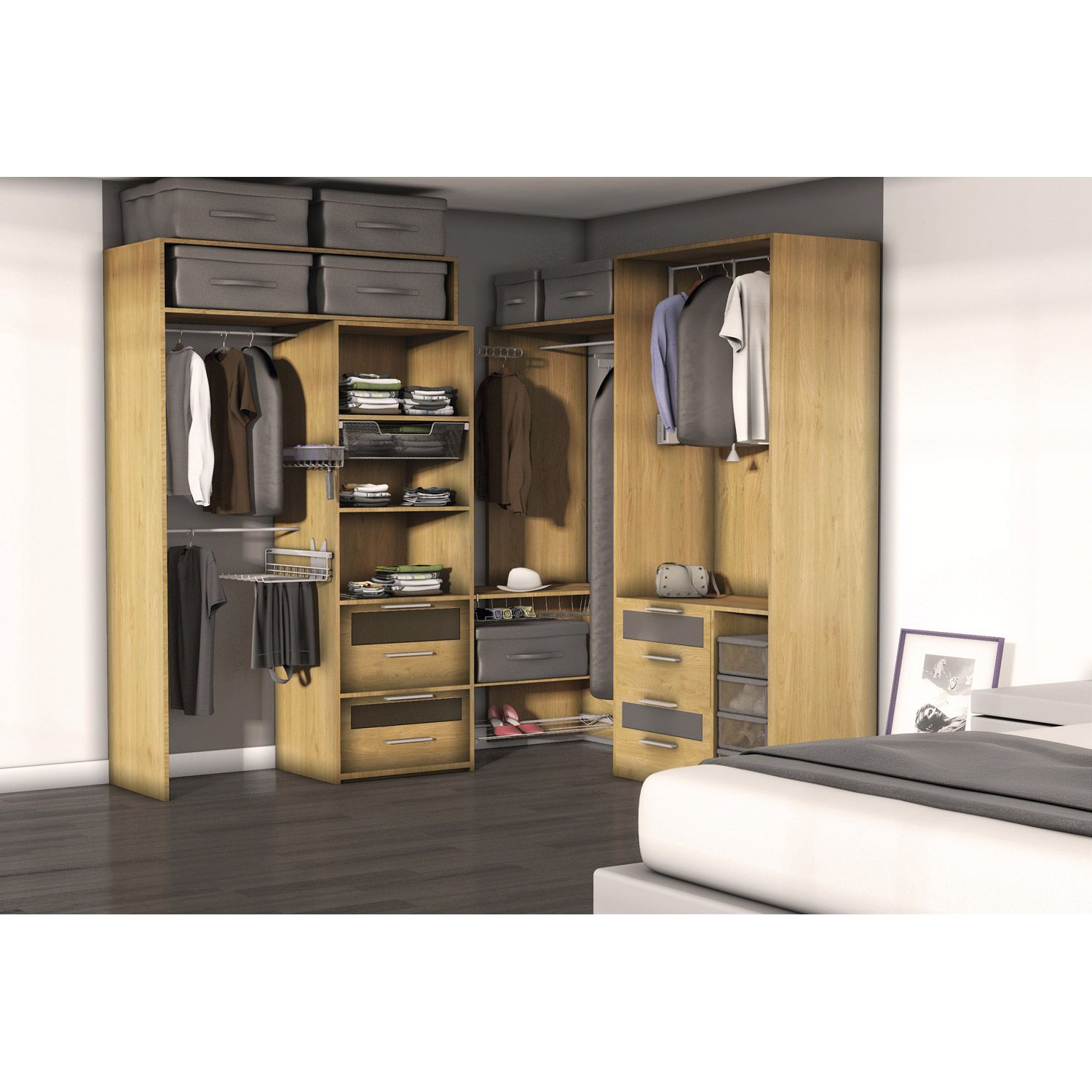 dressing leroy merlin awesome cloison amovible fixe leroy. Black Bedroom Furniture Sets. Home Design Ideas