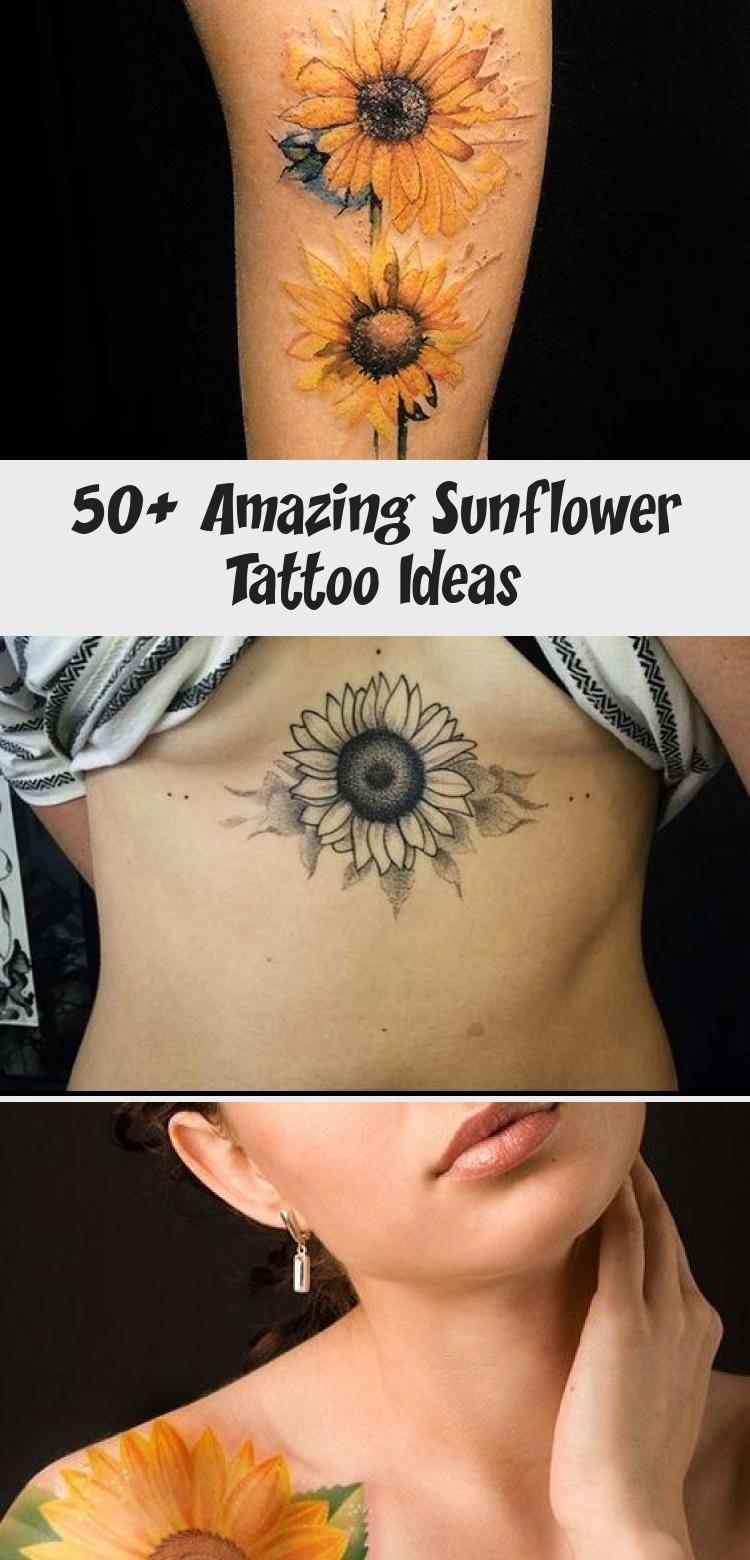 50 amazing sunflower tattoo ideas sunflower tattoo