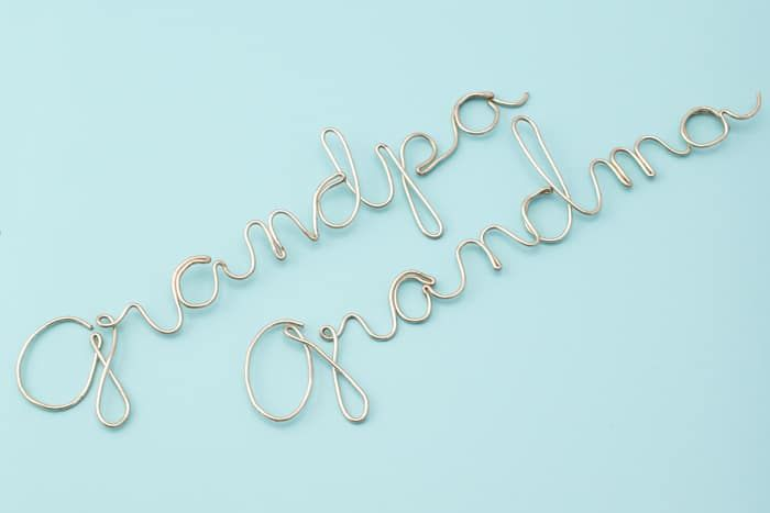 Wire Craft - Wrapping Wire to Make any Word or Name - | Wire craft ...