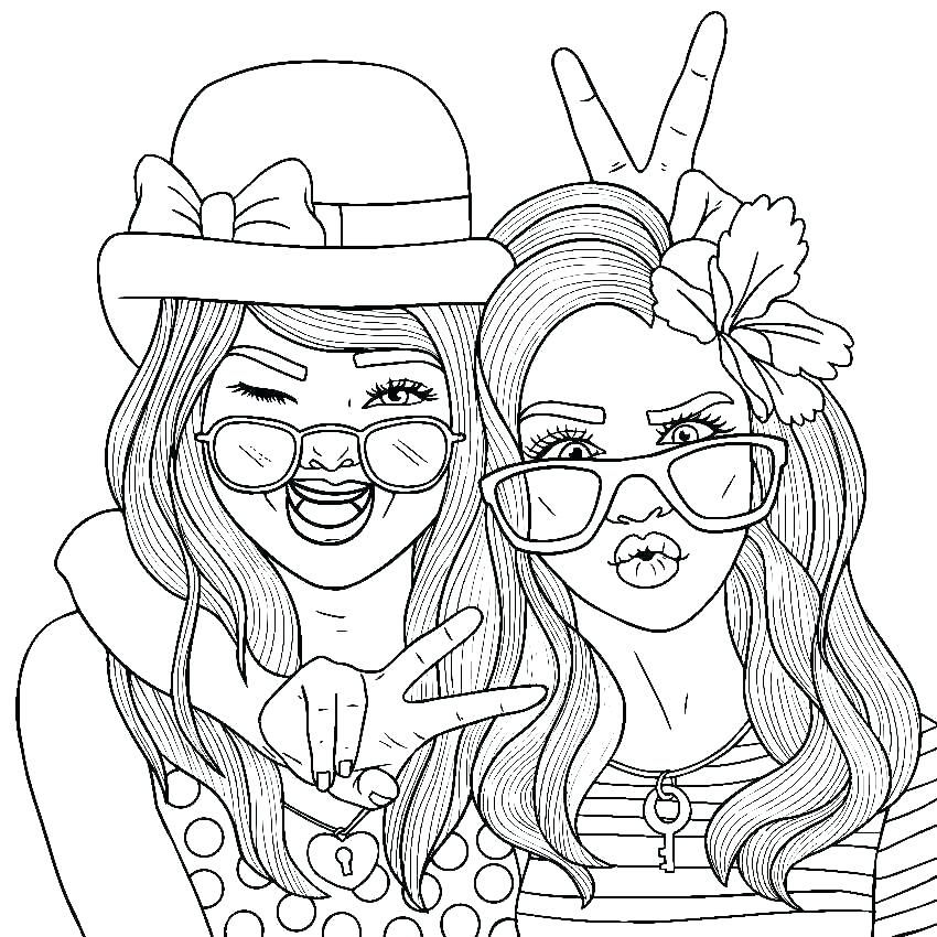 Best Color Sheets Bff Coloring Pages Coloring Pages Color Pages S People Coloring Pages Barbie Coloring Pages Cool Coloring Pages