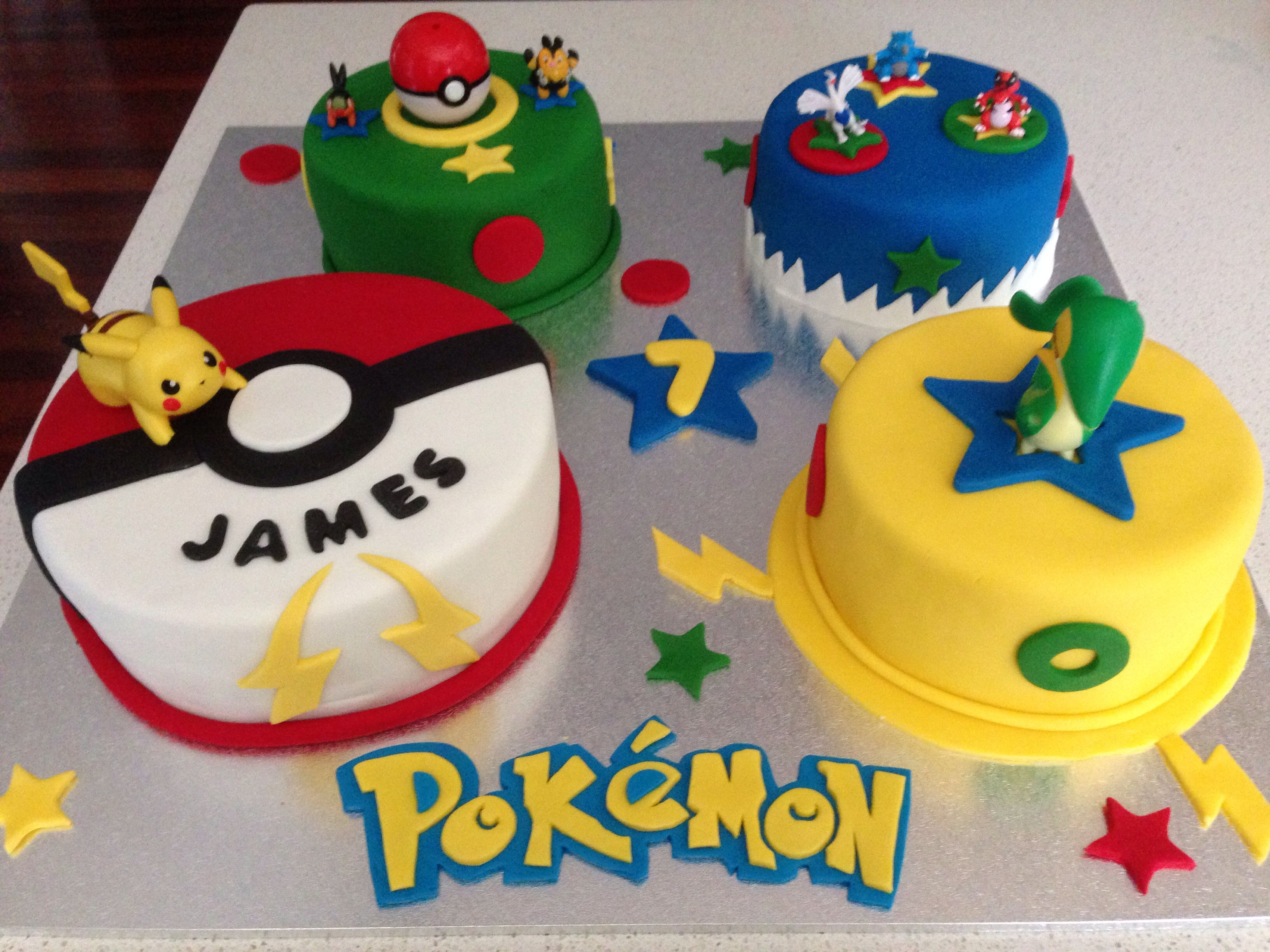 Pokemon Cake Tamara And Tanja S Cakes Pinterest