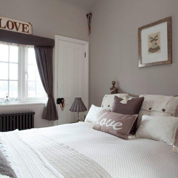 kleines Schlafzimmer einrichten winzige Details- wichtig betonen den