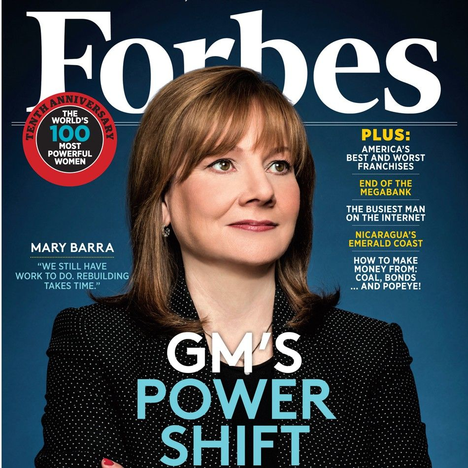 "Mary Barra becomes the first woman to lead a major auto company; becoming the head of General Motors in January.  2 weeks later the auto maker announced a serious recall; prompting a national conversation about the ""Glass Cliff"" in women's promotions.    http://www.newyorker.com/business/currency/is-mary-barra-standing-on-a-glass-cliff"
