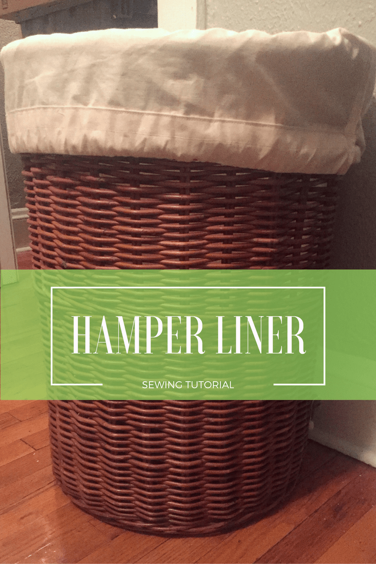 Diy Laundry Bag Hamper Liner Diy Laundry Liner Tutorial Hamper