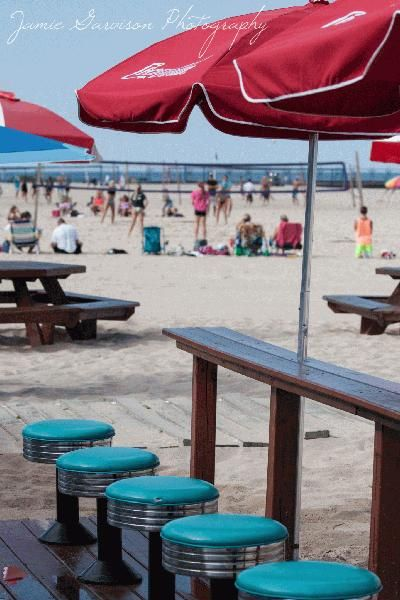 South Haven, Michigan's North Beach Concession Stand