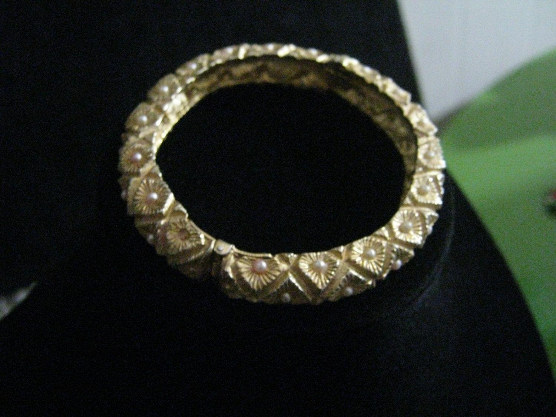 Vintage Ornate Bracelet by Silverladyvintage on Etsy