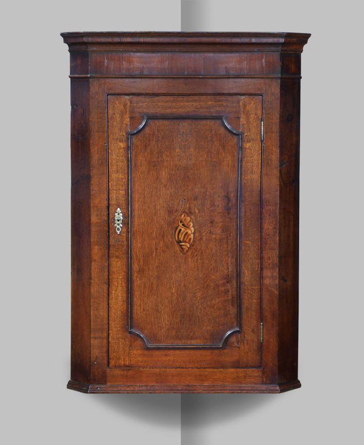 George III oak corner cupboard - Antique Corner Cupboard In 2018 Furniture & Accessories