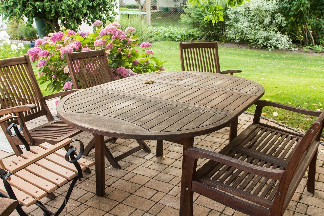 12 Gorgeous Garden Ideas Wooden Garden Furniture Teak Patio Furniture Painted Outdoor Furniture