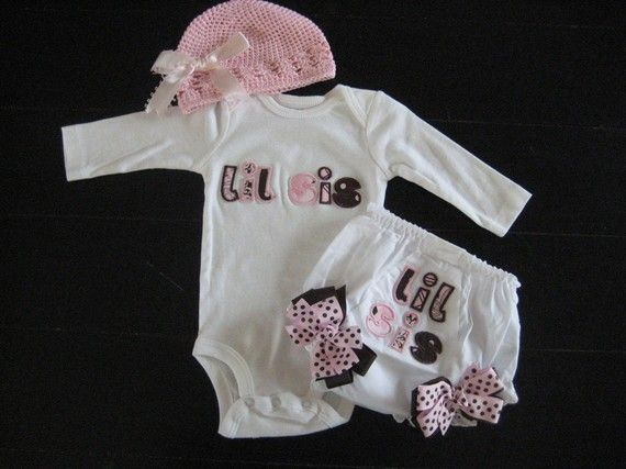 Cute going home outfit *if* I were to have a girl.