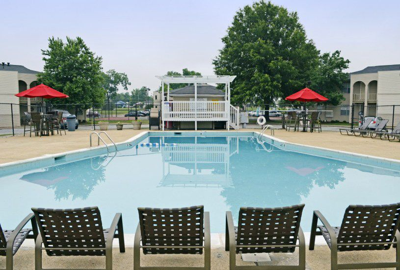 Relax by our Huge Sparkling Heated Pool at Bent Tree Apartments! 900 ...