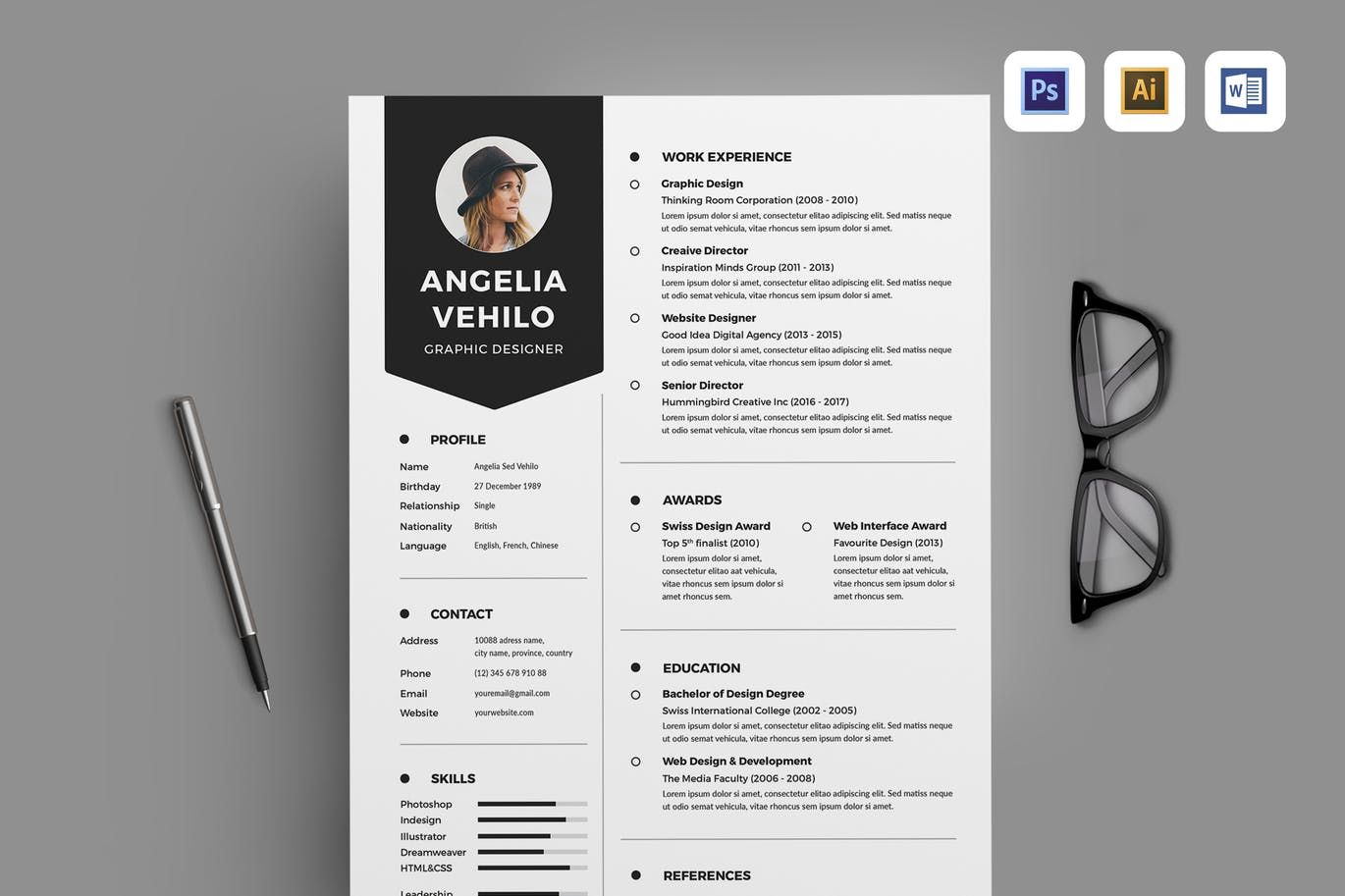 Resume By Leaflove On Resume Words Creative Resume
